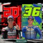 Fabio Quartararo Vs Joan Mir, Duel Penting yang Terlupakan di MotoGP Prancis