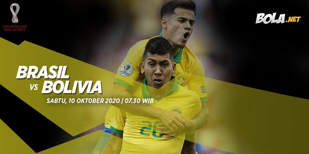 Prediksi Brasil vs Bolivia 10 Oktober 2020